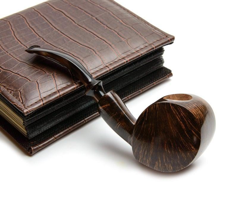 Трубка Freehand ручной работы авторская из Итальянского бриара высокого качества