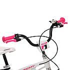 Велосипед детский двухколесный PROFI Infinity LMG14204 14 дюймов бело-розовый, фото 2