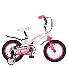 Велосипед детский двухколесный PROFI Infinity LMG14204 14 дюймов бело-розовый, фото 3