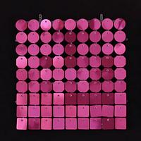 Планшеты с пайетками 30 мм, SolaAir, цвет 12 / Малиновый, 1 шт