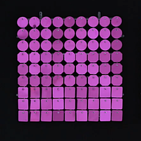 Планшеты с пайетками 30 мм, SolaAir, цвет 09 / Сиреневый, 1 шт