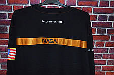Мужская кофта - Лонгслив Heron Preston x NASA черная, фото 2