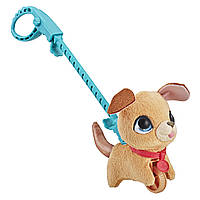 Hasbro Интерактивная игрушка Фурриал Френдс Маленький питомец на поводке Щенок