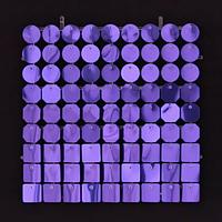 Планшеты с пайетками 30 мм, SolaAir, цвет 06 / Фиолетовый, 1 шт