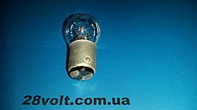 Лампа СМ 26-15 (СМ-16) цоколь B15d/18