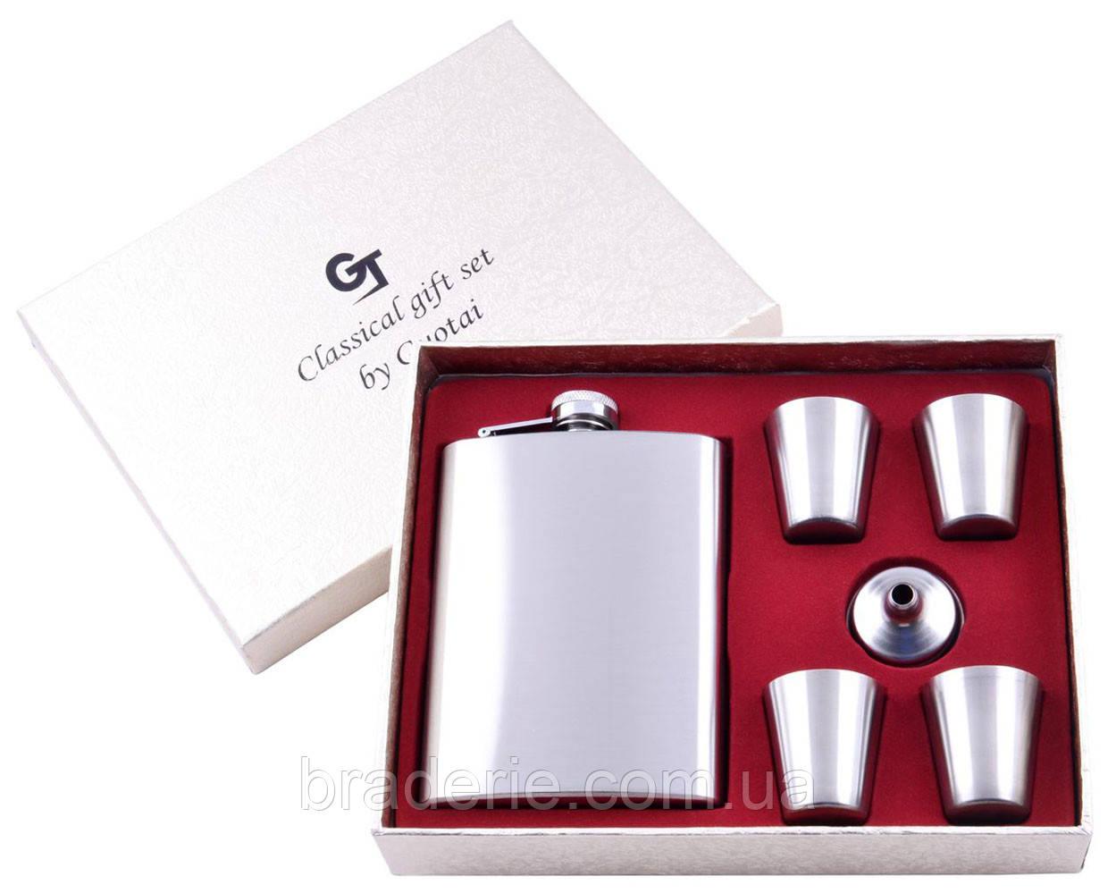 Подарочный набор GT-15 фляга с рюмками