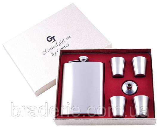 Подарочный набор GT-15 фляга с рюмками, фото 2