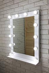 """Макияжное зеркало с подсветкой """"Мики с полкой"""" 60х80х15 см."""
