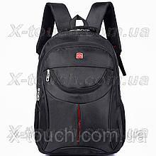 Мужской рюкзак непромокаемый DengSiya 5851, черный.
