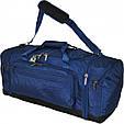 Дорожная сумка средняя Bagland Мадрид 48 л. Артикул: 34270. Цвет в ассортименте, фото 6