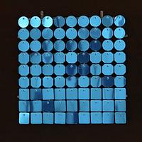Планшеты с пайетками 30 мм, SolaAir, цвет 29 / Голубой, 1 шт