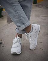 Женские белые кроссовки Reebok Classic White  Рибок Классик Белые