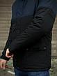 Мужская куртка (весна\осень) -  Intruder 'WaterProof' синяя-черная +ПОДАРОК бафф, фото 4