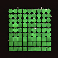 Планшеты с пайетками 30 мм, SolaAir, цвет 21 / Зеленый, 1 шт