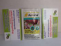 """Інсектицид """"Актара"""" 1,4 м від колорадського жука, попелиць, квіткоїда, пильщика."""