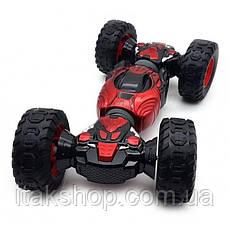 Трюковая машинка трансформер перевертыш Car Champions вездеход (Red), фото 2