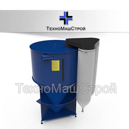 Смеситель корма, кормосмеситель КС-1500, фото 2