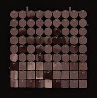 Планшеты с пайетками 30 мм, SolaAir, цвет 39 / Коричневый, 1 шт