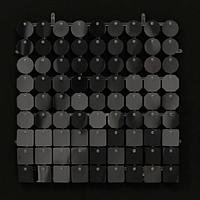 Планшеты с пайетками 30 мм, SolaAir, цвет 37 / Черный, 1 шт