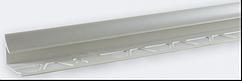 Угол внутренний под плитку (7-8 мм) металик LRB07
