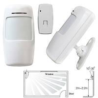 Датчик движения ИК PIR беспроводной 433МГц для GSM сигнализации, тип B