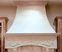 Классический вариант кухонной вытяжки из мрамора