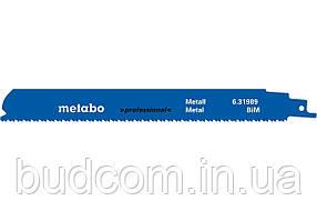 Сабельное полотно по металлу Metabo Professional S 1126 CHF 225 мм, 5 шт (631989000)