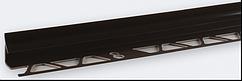 Угол внутренний под плитку (7-8 мм) коричневый LRB08