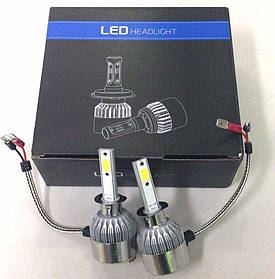 Комплект автомобильных LED ламп C6 H1