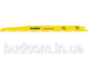 Сабельное полотно по дереву Metabo Professional 240 мм, S 1531 L, 5 шт (631488000)