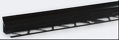 Угол внутренний под плитку (7-8 мм) черный LRB09