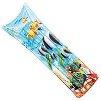 59720 Надувной матрас для плавания 183х69см, 3 вида