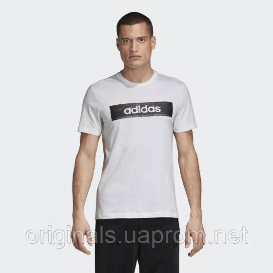 Футболка мужская adidas Brush-Stroke Box Graphic Tee EI4587