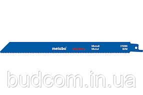 Сабельное полотно по металлу Metabo Flexible 225 мм, S 1122 BF, 5 шт (631494000)