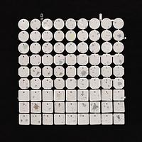 Планшеты с пайетками 30 мм, SolaAir, цвет 90-100 / Брызги, 1 шт