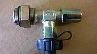 Фитинг пневматический угловой с разъемом 365 0210 2 WIRA, фото 1