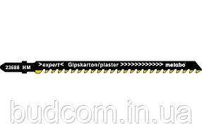 Лобзиковое полотно для гипсокартона Metabo Expert 106 мм T 341 HM (623688000)