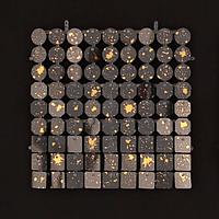 Планшеты с пайетками 30 мм, SolaAir, цвет 37-47 / Брызги, 1 шт