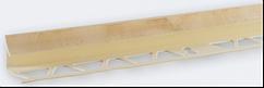 Угол внутренний под плитку (7-8 мм) мрамор слоновая кость LTR02