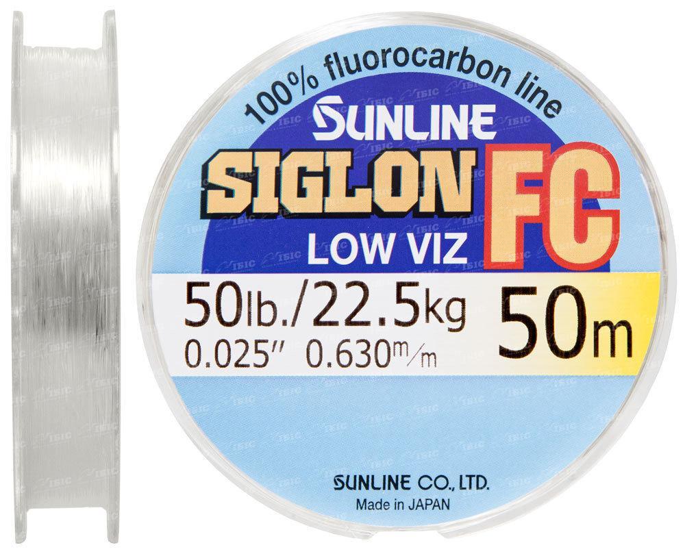 Флюорокарбон Sunline 50m 0.630mm 22.5kg