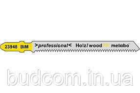 Лобзиковое полотно для дерева Metabo Professional 74 мм T 101 AIF, 5 шт (623948000)