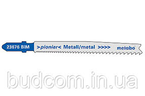 Лобзиковое полотно по металлу Metabo Pioner 74 мм T 123 XF, 5 шт (623676000)
