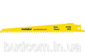 Сабельное полотно по дереву Metabo Professional 150 мм, S 644 D, 5 шт (631470000)