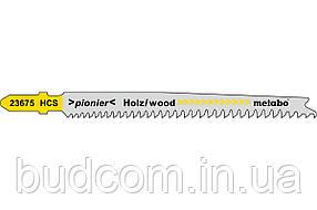 Пилка для лобзика по дереву Metabo Pionier 91 мм T 234 X, 5 шт (623675000)
