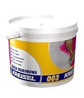 Краска силиконовая фасадная с повышенной грязестойкостью KREISEL Silikonfarbe 003