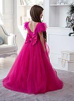 Невероятно красивое и яркое платье Микки, цвета фуксия, 122  размер