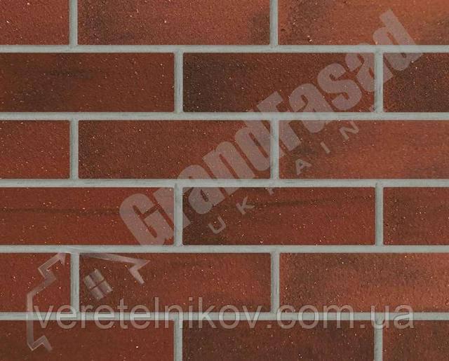 Гибкий кирпич клинкер гладкий «ELASTOCLIN» (Эластоклин) цвет №33 серая затирка
