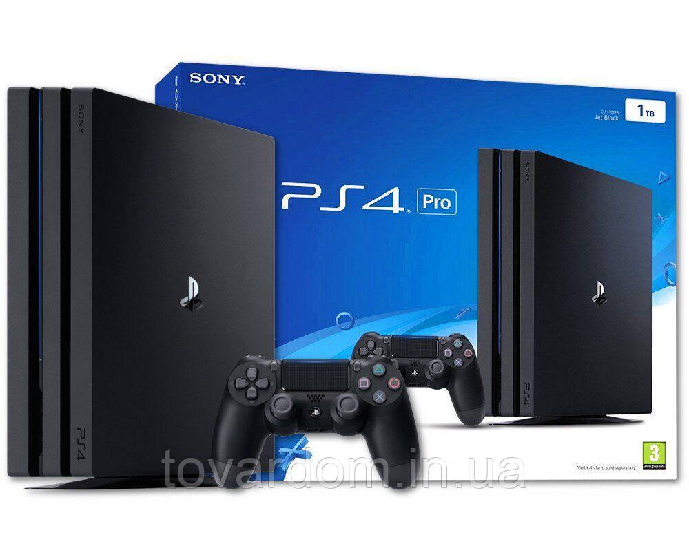 Игровые Приставки Sony PlayStation 4 Pro 1000Gb