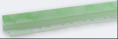Кут внутрішній під плитку (7-8 мм) мармур салатовий LTR05