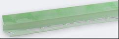 Угол внутренний под плитку (7-8 мм) мрамор салатовый LTR05